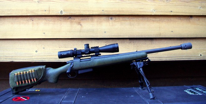 Remington 700 SPS Tactical with QD Brake Shield