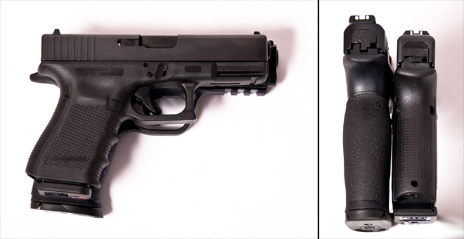 M&P9 vs Glock - Size Comparison