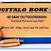 Buffalo Bore 40 ammo