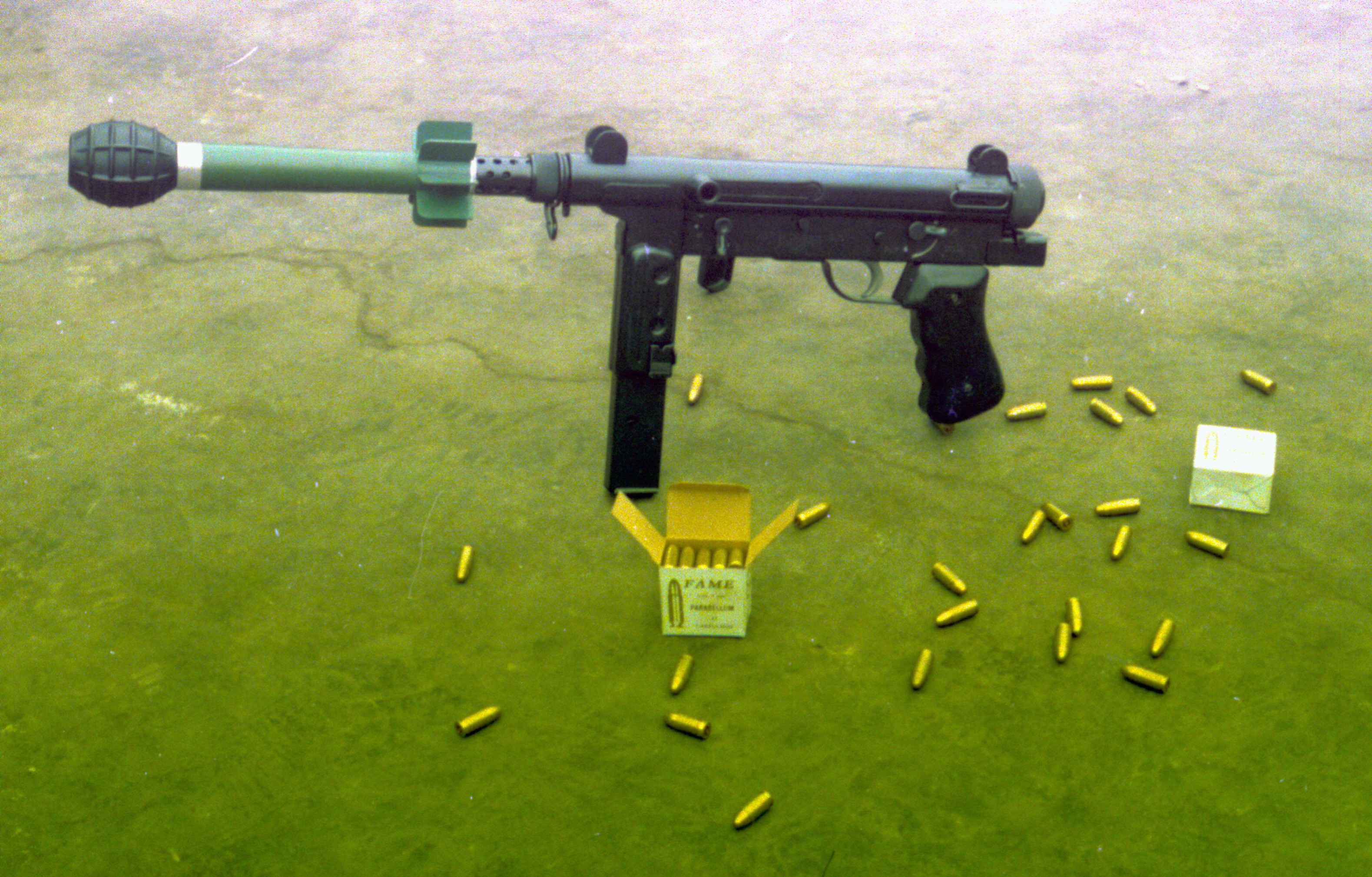 Peruvian MGP-87: A Grenade Launching Submachine Gun -The ... Army Special Forces Weapons