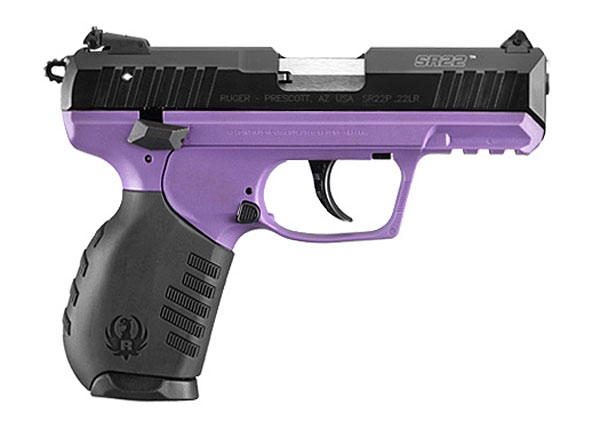 purple ruger SR22