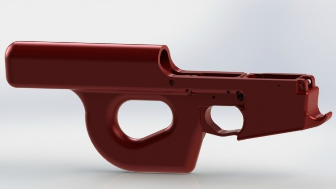Buffered Pistol Receiver