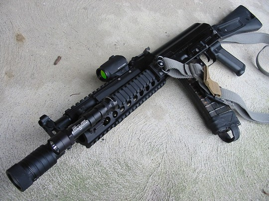 SLR-106CR models are favorites of AK gurus like Ray Cunningham