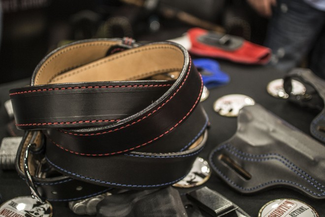 I actually kinda like the way the belts look.