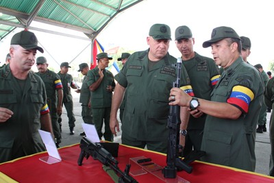 AK-103 Rifles In Venezuela