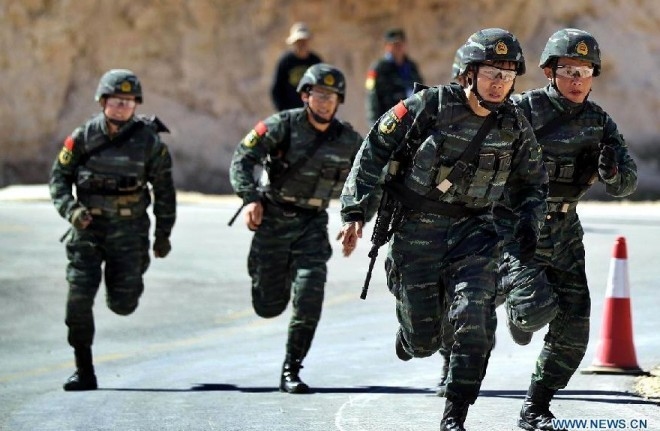 China Special Forces with AR-15