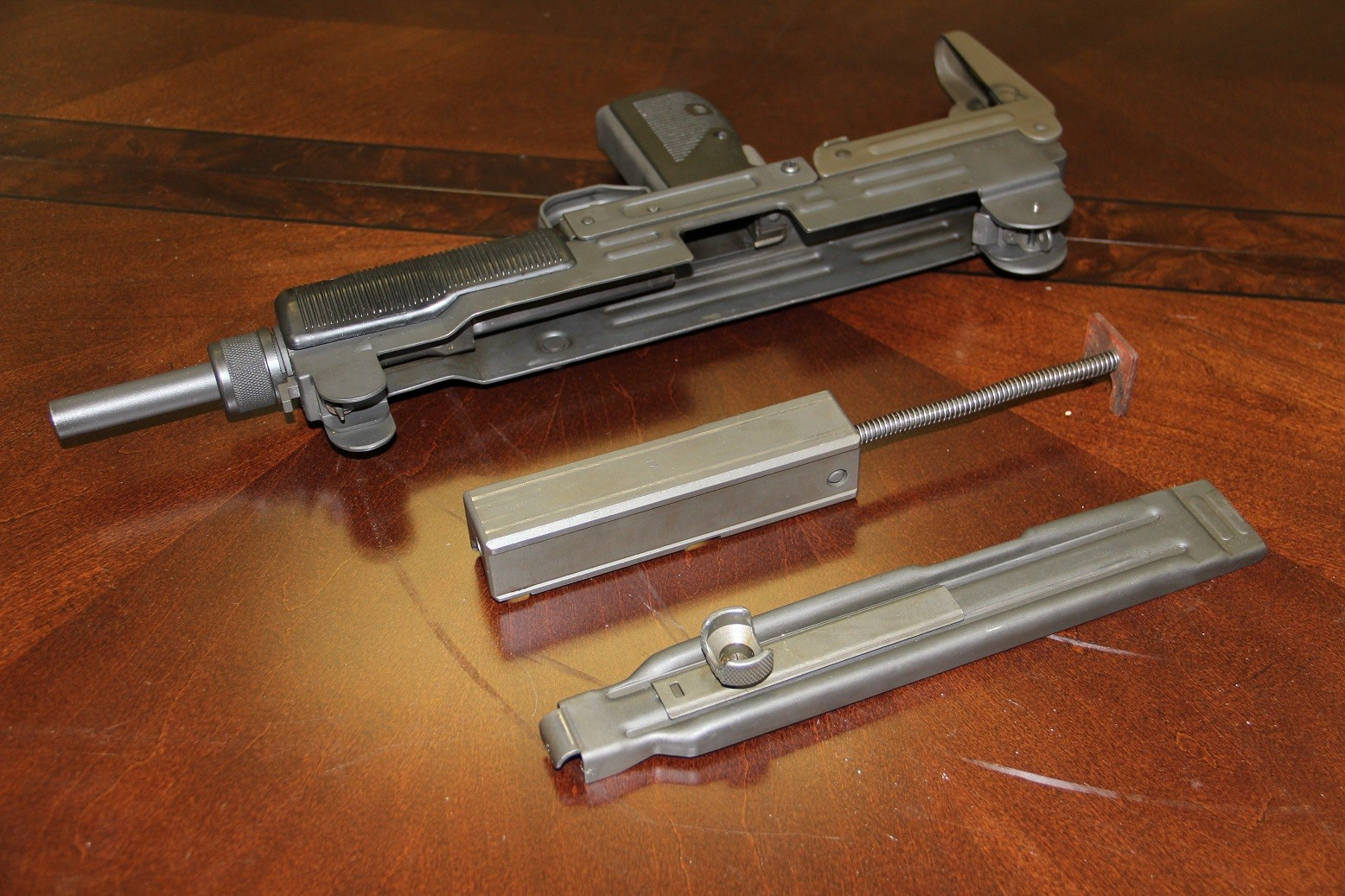 Gun Review Open Bolt Explained A Tale Of Two Uzis The Firearm Blog Uzi Schematic Img 0955