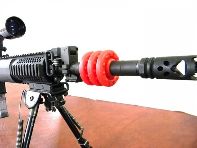 AR-15 Barrel Dampener
