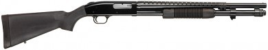 9 round capacity, 12 gauge, convenient safety, bayonet lug...what's not to like?