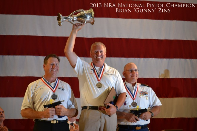 2013 NRA National Pistol Champion Brian Zins