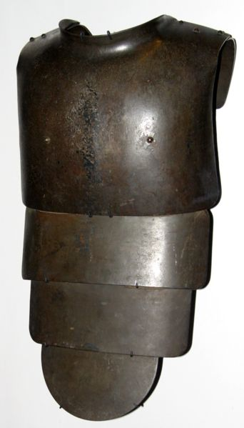 German WWI body armor. Photo (C) Rama