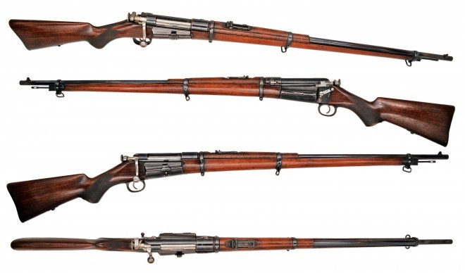 The Blake Infantry Rifle