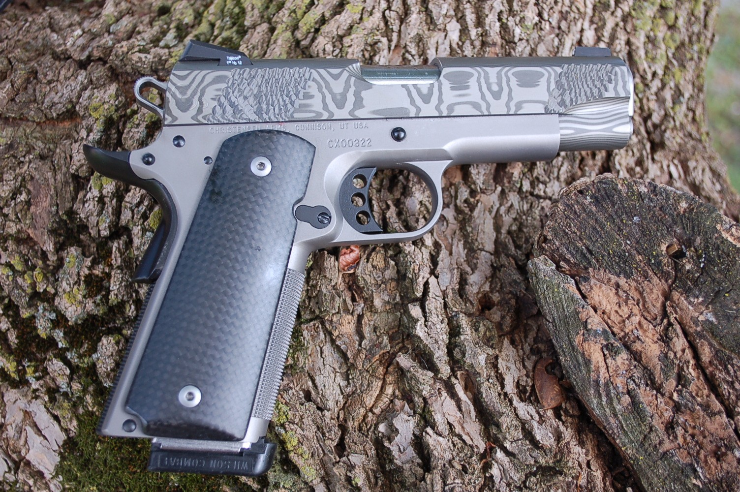 How Much Is Titanium Worth >> Gun Review: Christensen Arms Damascus Commander -The ...
