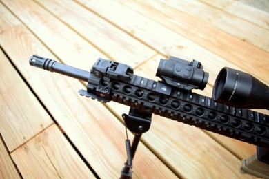 The Thorntail Offset mount proved to be an awesome platform for Lucid's new red dot.
