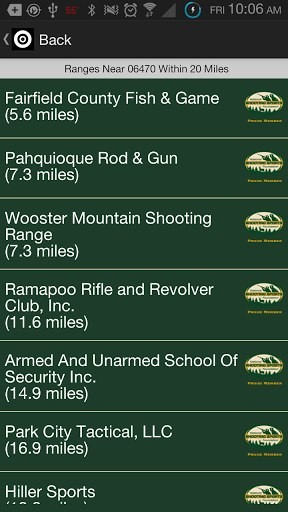 """NSSF """"Where To Shoot"""" App for iOS and Android"""