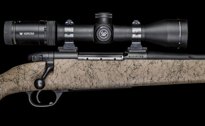 With a Vortex Viper HS 2.5-10x44 in Talley rings, the Mark V Ultralight felt like an awesome short to mid range hunting rifle.