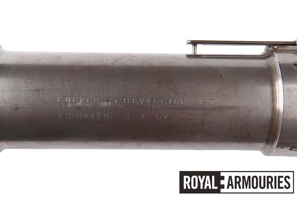 Markings on other side of grenade launcher tube, PR.9711 © Royal Armouries