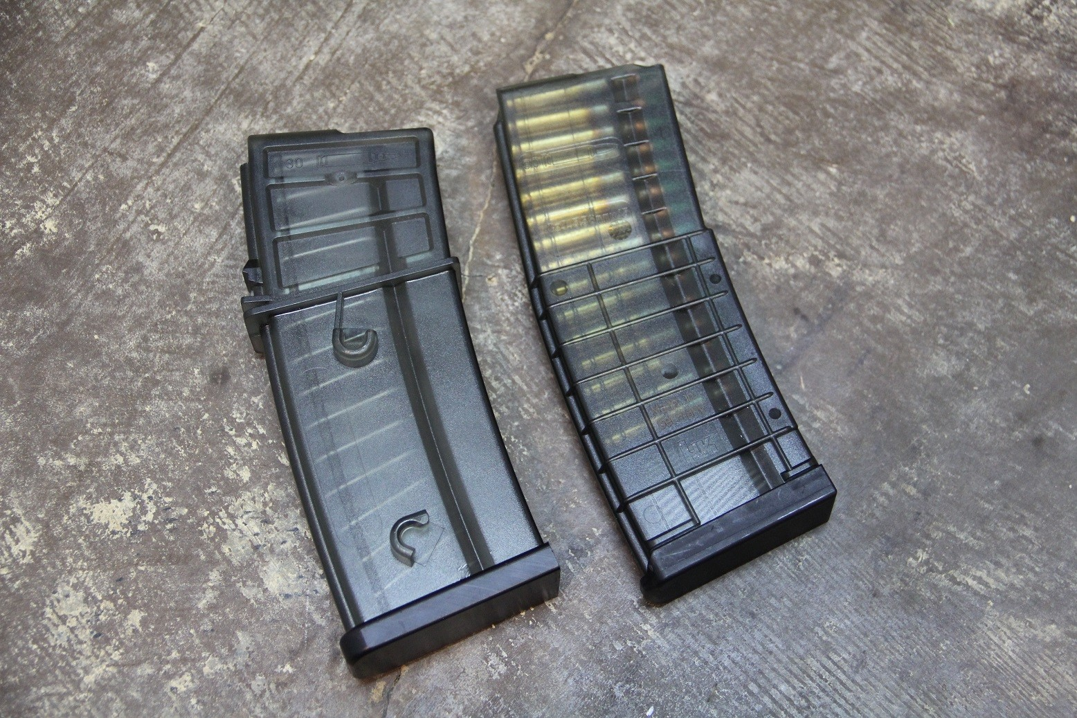 new h k polymer magazines the firearm blogthe firearm blog. Black Bedroom Furniture Sets. Home Design Ideas