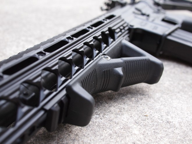 The Magpul AFG also comes installed on the CDI.