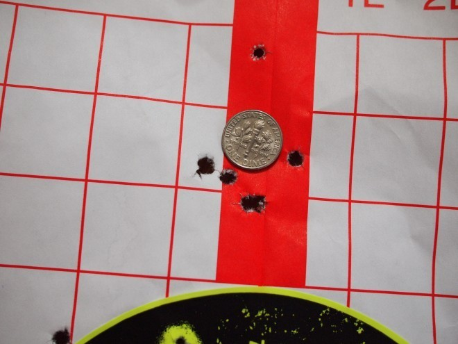 Best 5-shot group at 50 yards