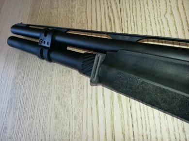 GG&G shotgun front sling attachment on a Benelli M2.
