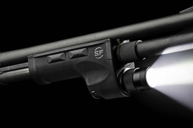Surefire Has Updated Their Dedicated Shotgun Forend (DSF) Weapon Light Line  Of Products. They Attached To A Range Of Pump Action Shotguns Replacing The  ...