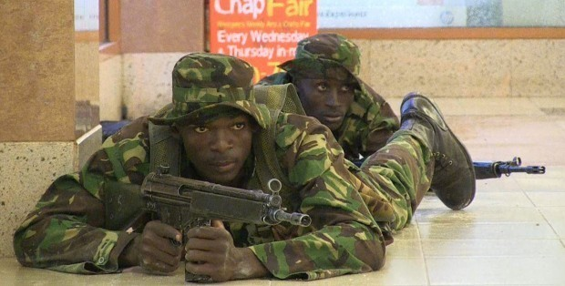 Kenyan Troops With H&K G3 rifles.