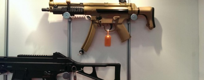hk mp5 brown green