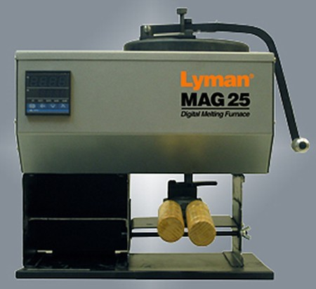 Lyman Mag 25 Lead Melting Furnace -The Firearm Blog