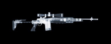 M14 EBR x-ray by Nick Veasey, courtesy of the artist.