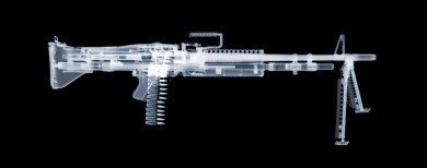 M60 x-ray by Nick Veasey, courtesy of the artist.