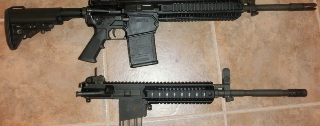 Colt 901, with 6920 upper and magwell conversion