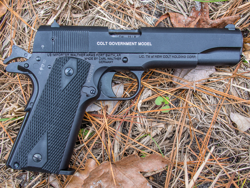 Gun Review: Walther/Colt Government 1911A1  22LR -The