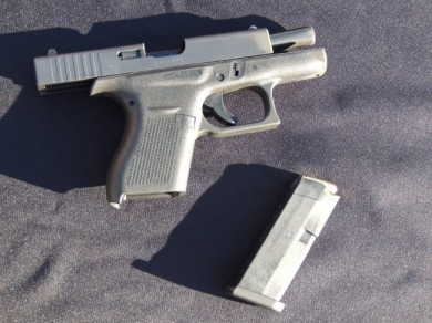 "The long awaited ""mini"" Glock ... only in .380."