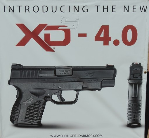 The new Springfield XDs 4.0.