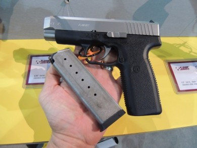 The CT45 will ship with only (1) stainless magazine.