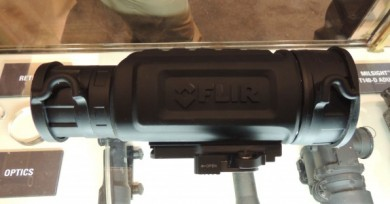 The FLIR R-Series thermal sight.