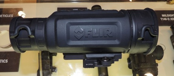The new, compact FLIR R-Series thermal sight.