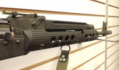 The Troy AK-47 short bottom rail hand guard.
