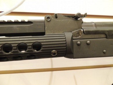 Another view of the Troy AK-47 short bottom rail attachment.