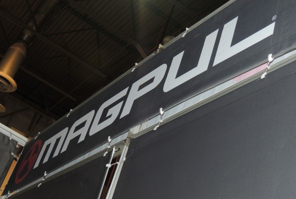 Magpul sign at SHOT