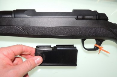The detachable magazine is solidly built and a beneficial feature.