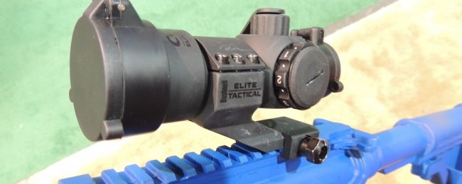 The new Bushnell CQTS red dot optic.