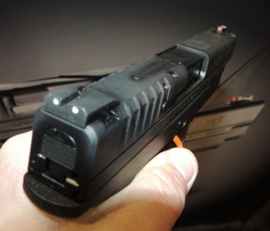 The XDs 4.0 sights.