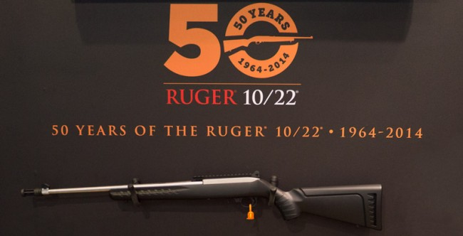 ruger 1022 50 years