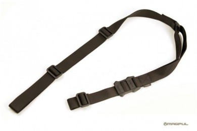The stand-alone MagPul MS1 sling prior to adding attachment adapters.