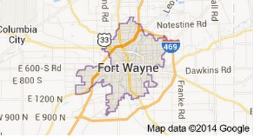 "Fort Wayne, Indiana. Great small town and very ""Open for Business"""