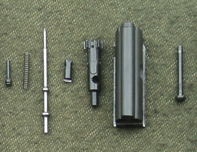 Disassembled IA2 assault rifle 1
