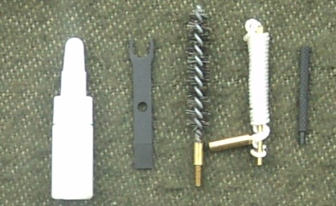 Disassembled IA2 assault rifle 2