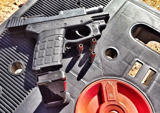 Kel-Tec PF-9 and magazine
